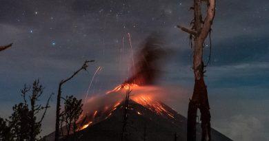Destrucción en  Guatemala