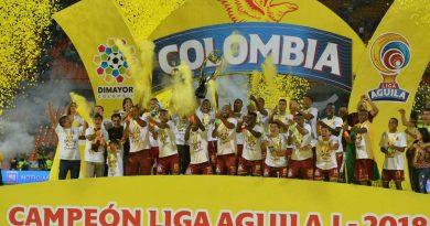 © Dimayor Deportes Tolima Campeón 2018-I